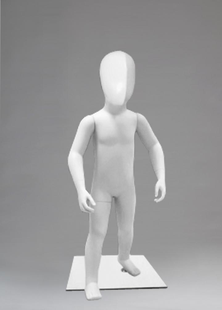 "Children's mannequin of the series ""Children - Aliens"" CV-2"