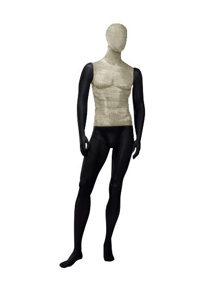 Men's fabric mannequins of the Nostalgie OMV-3 series