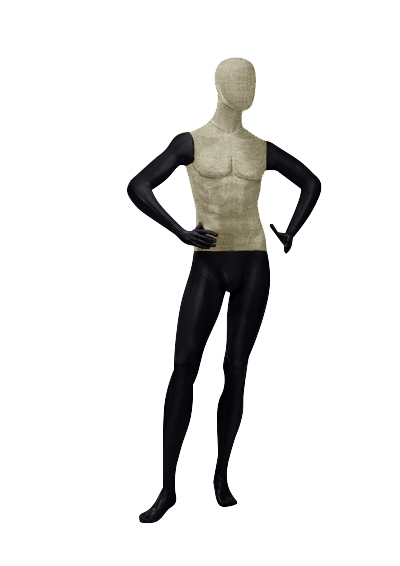 Men's fabric mannequins of the Nostalgie OMV-5 series