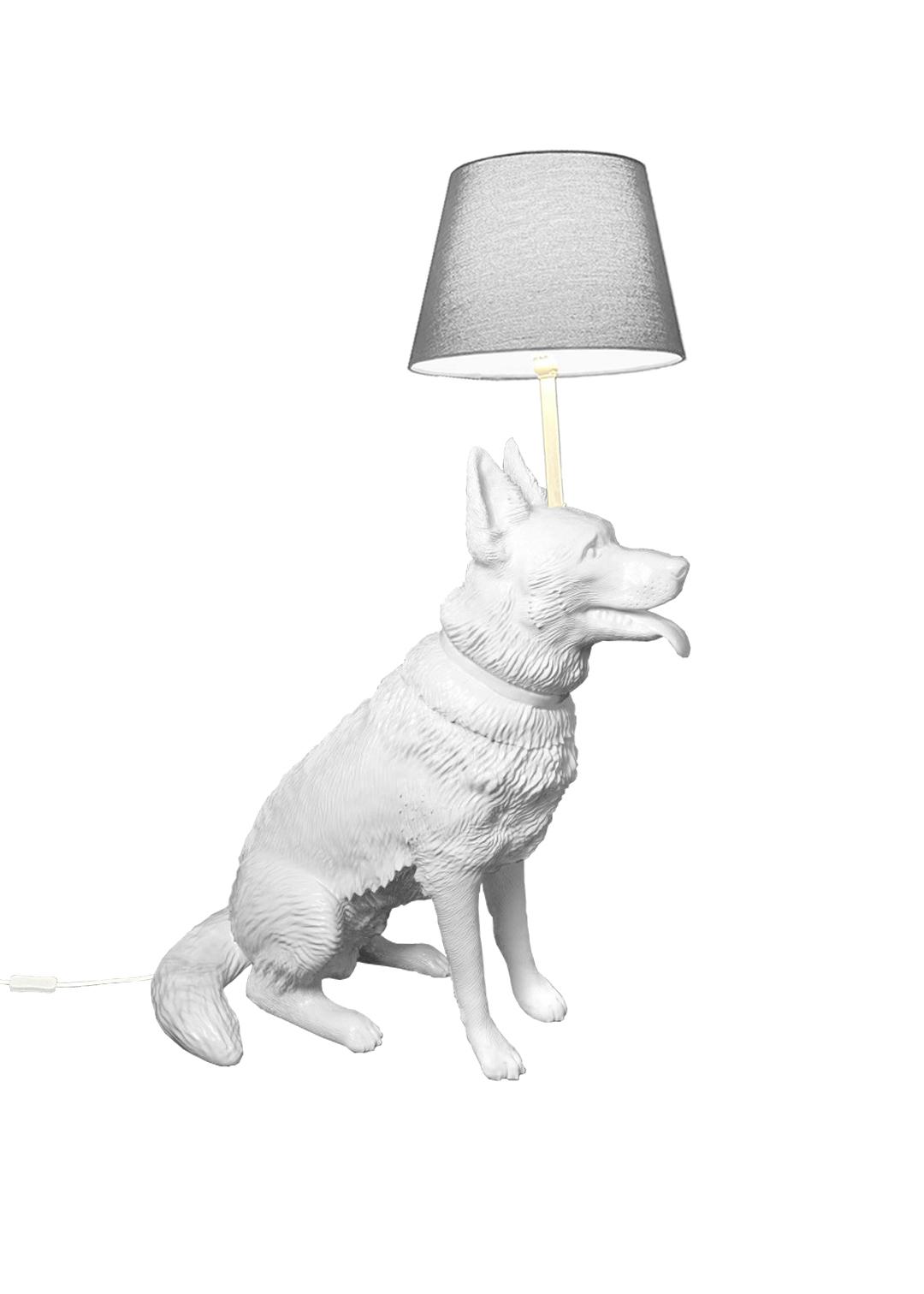 """Floor lamp """"Seated shepherd"""""""
