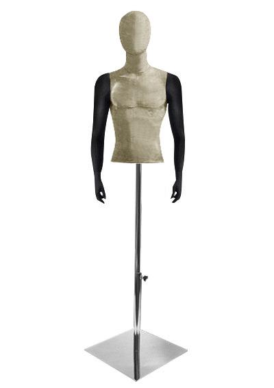 Men's fabric torso Nostalgie 01