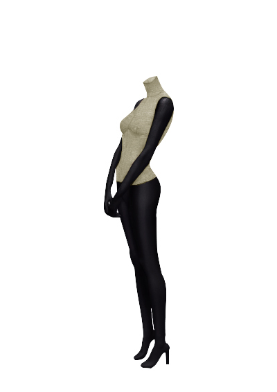 Female fabric mannequins of the Nostalgie series SDBV-1