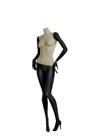 Female fabric mannequins of the Nostalgie series SDBV-6
