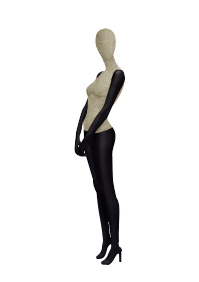 Female fabric mannequins of the Nostalgie series SDV-1