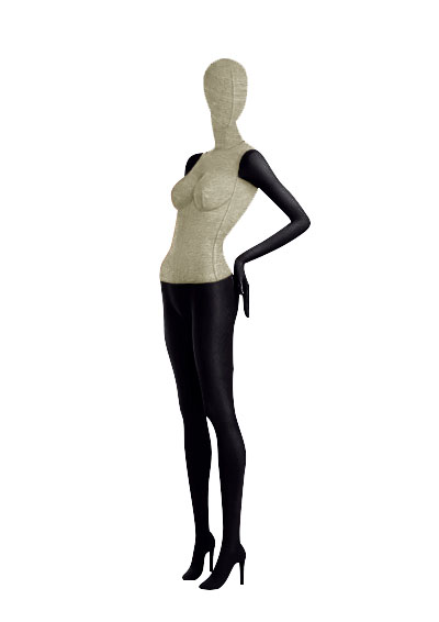 Female fabric mannequins of the Nostalgie series SDV-4