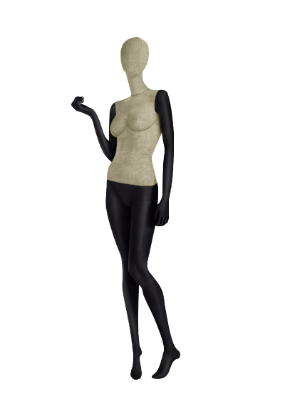 Female fabric mannequins of the Nostalgie series SDV-5