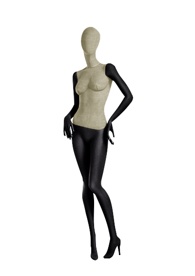 Female fabric mannequins of the Nostalgie series SDV-6