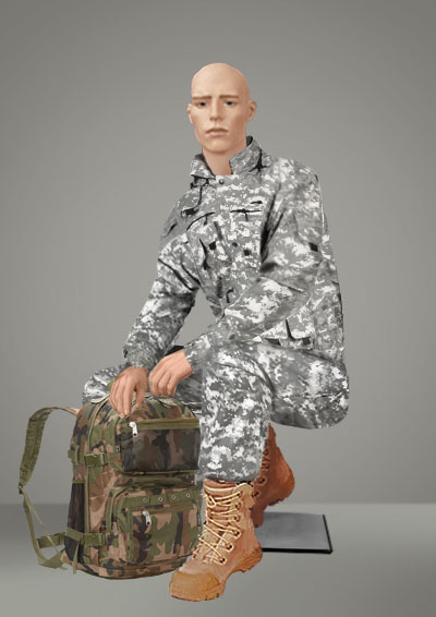"""Male Mannequin """"Military-2"""""""