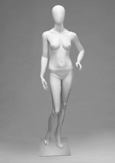 Female mannequins of the Alien series 13