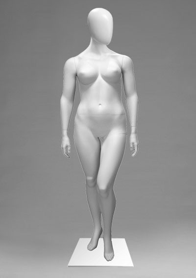 Female mannequins of the Alien series 14