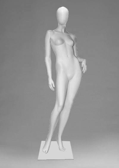 Female mannequins of the Alien 23 series