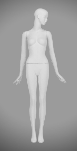 Modesty female mannequins 06