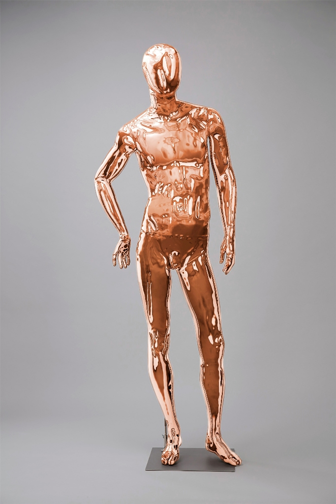 Mannequins Shiny Copper 4 Series
