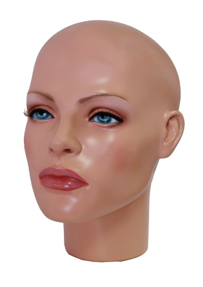 Anfisa female mannequin head