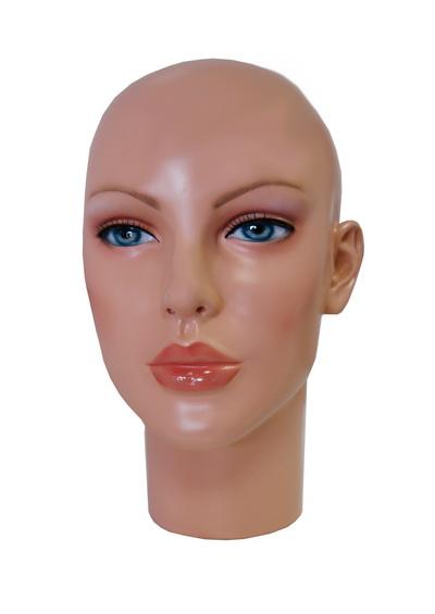 Head of a female mannequin Avdotya