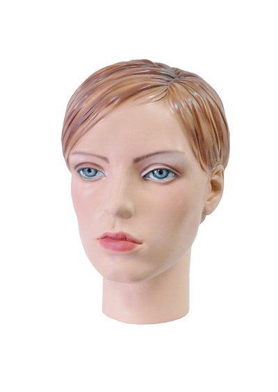 Barbara female mannequin head