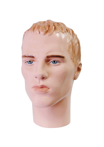 The head of the male mannequin Yermolai
