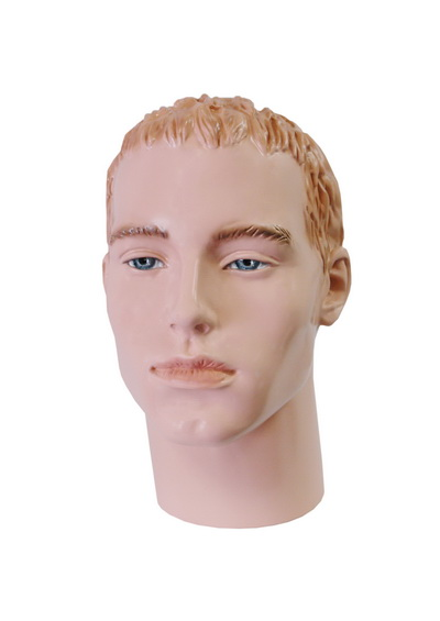 Paramon male mannequin head