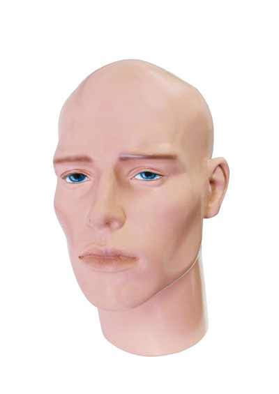 Prokhor male mannequin head