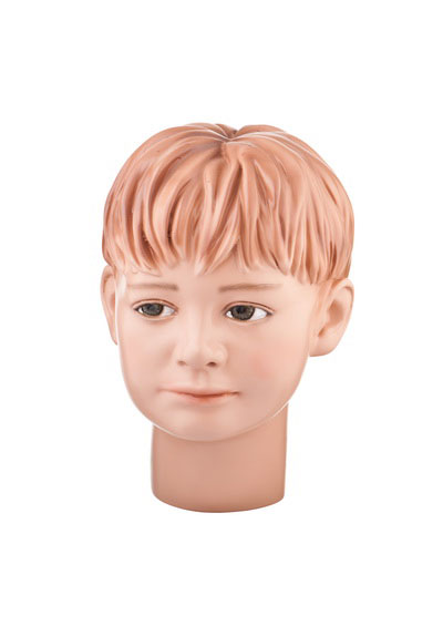 Head of a baby mannequin Mishenka