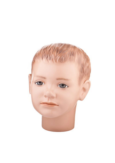 Head of a baby mannequin Pashka