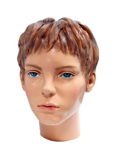 Head of a baby mannequin Vera