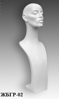 Demo forms of busts of the Grace series BGR-02