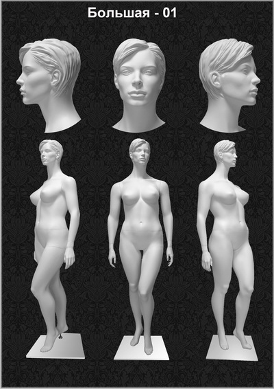 "Female mannequin ""Big-01"" Series"