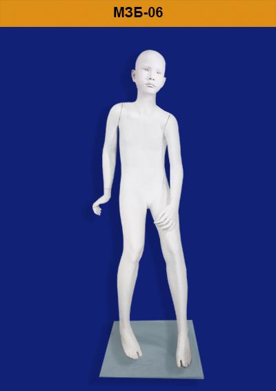 Children's mannequins of the ZARA MZB-06 series