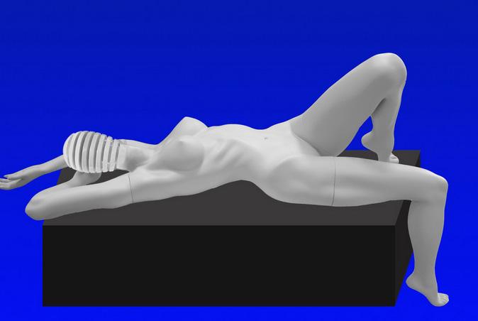 Female mannequin of the Eta series -31
