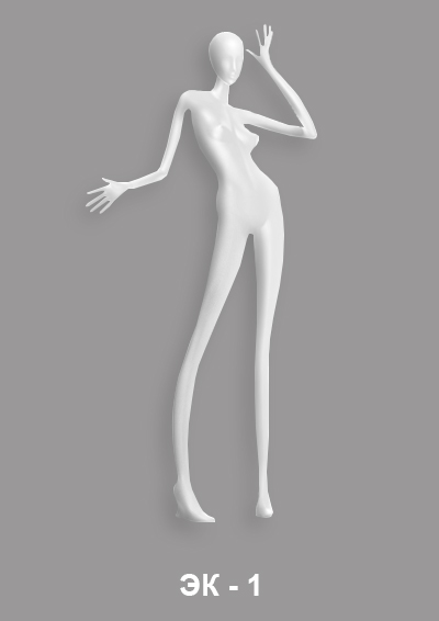 Female mannequin of the Expression series EK-1