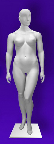 Female mannequins of the Independence series 14