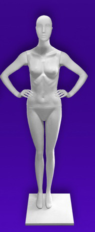 Female mannequins of the Independence series 22