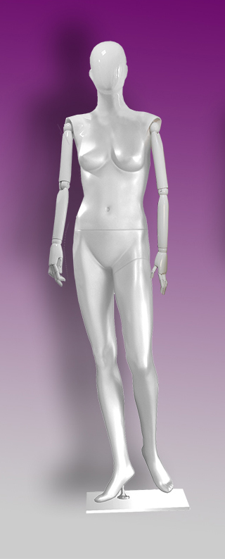Female mannequins of the Insight series 01