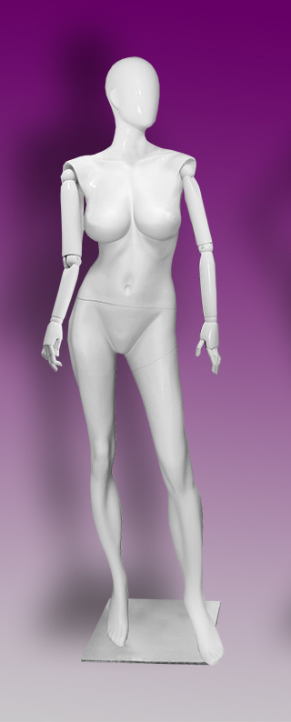 Female mannequins of the Insight series 04