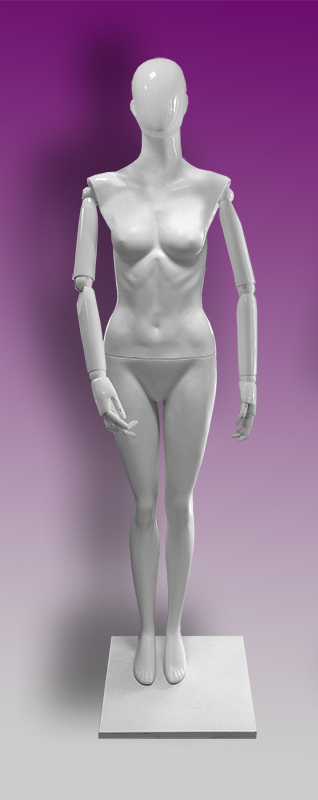 Female mannequins of the Insight series 06