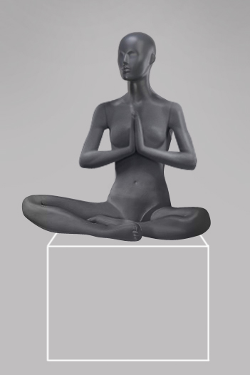 Female mannequin of the Yoga-6 series