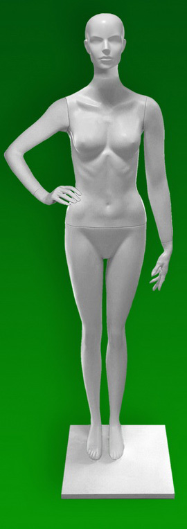 Female mannequins of the TA series 25