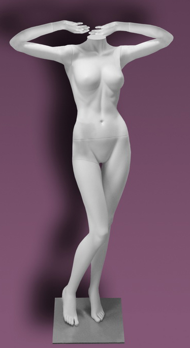 Female mannequins of the Inspiration series 19