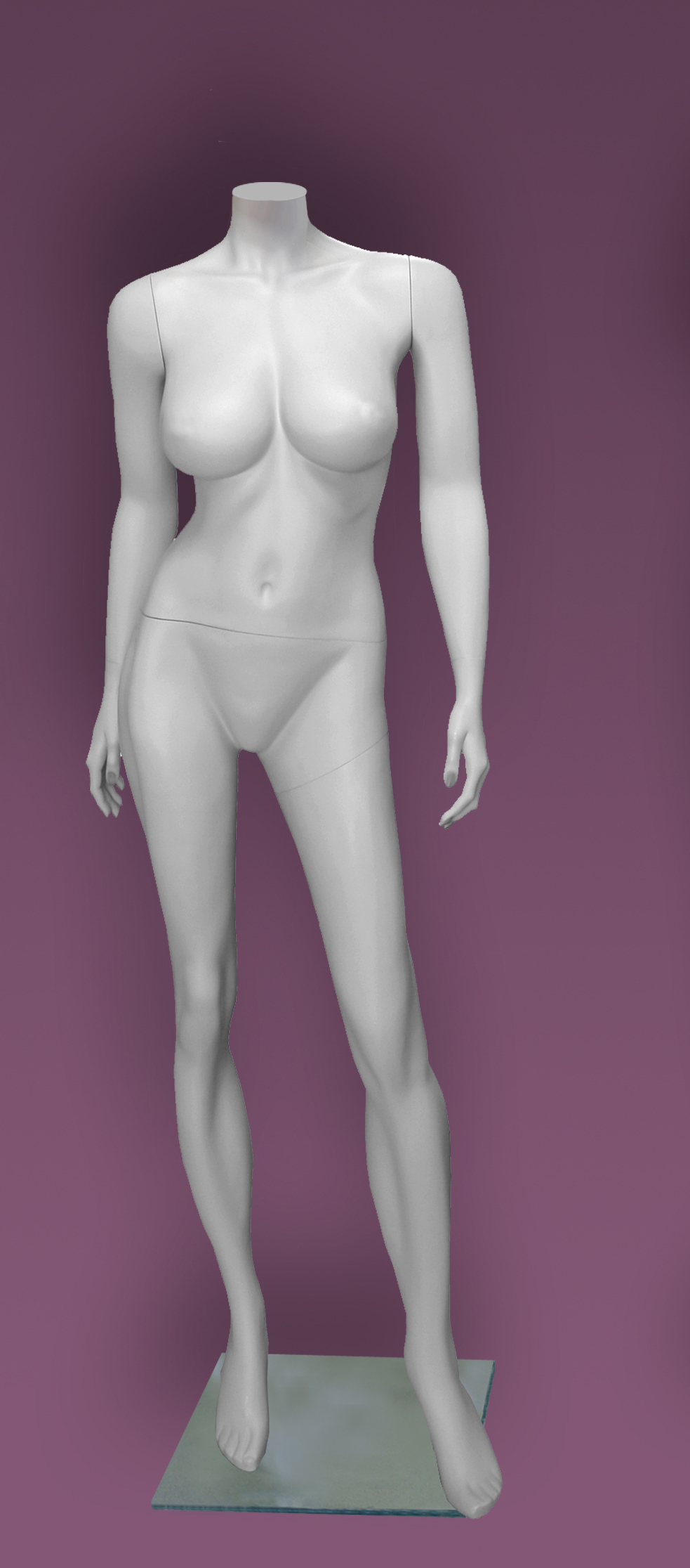Female mannequins of the Inspiration series 40