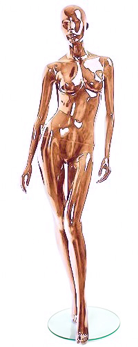Shiny-Copper 2 Female Mannequins