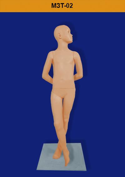 Children's mannequins of the ZARA MZT-02 series