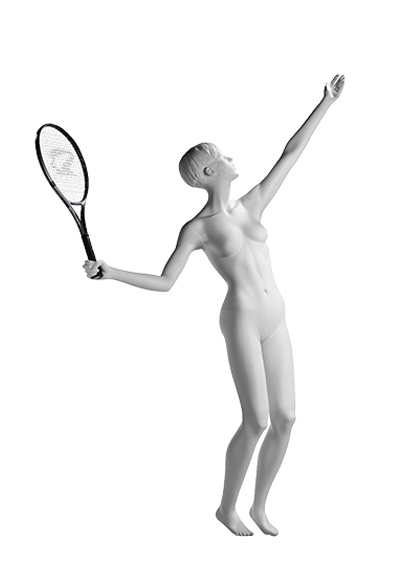 Female mannequin of the Master of Sports series of the MSZh - 02