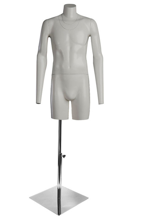 PhotoHit 1 male torso for photography with stand