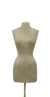 Female fabric torso of Nostalgie 04