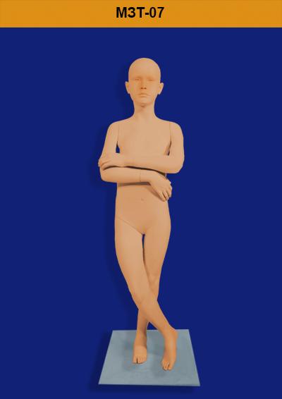 Children's mannequins of the ZARA MZT-07 series