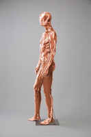 Mannequins Shiny Copper 3 Series