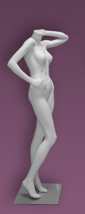 Female mannequins of the Inspiration 12 series