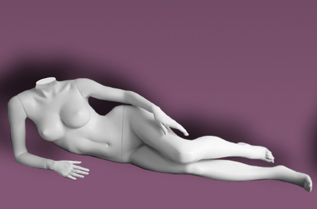 Female mannequins of the Inspiration series 16