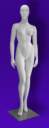 Female mannequins of the Independence series 17